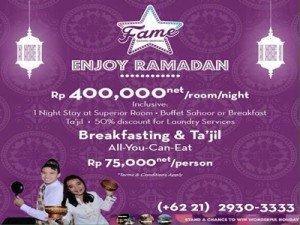 (bentengpos.com) fame hotel enjoy ramadan